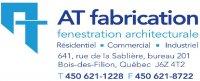 logo A.T. Fabrication inc